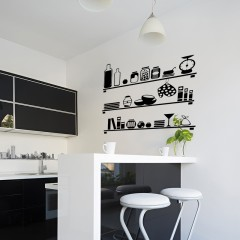Zidna naljepnica – modern kitchen
