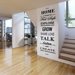 Zidna naljepnica – Home citat