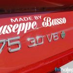 Naljepnica Alfa Romeo Made by Busso