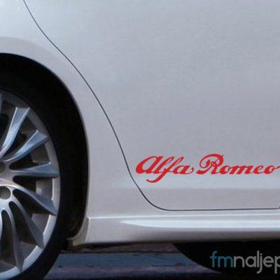Alfa Romeo natpis
