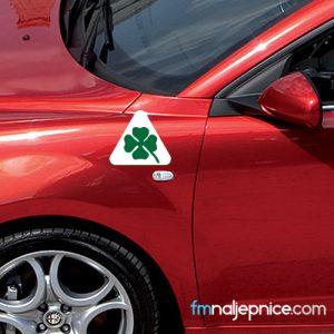 Quadrifoglio Verde trokut