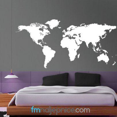 Zidna naljepnica - svijet
