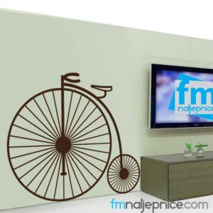 Zidna naljepnica – Bicikl retro
