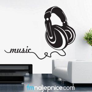 Zidna naljepnica – Music