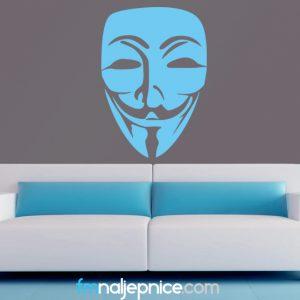 Zidna naljepnica – Maska
