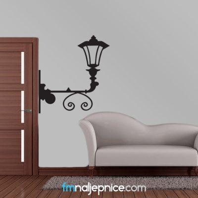 Zidna naljepnica – Zidna lampa
