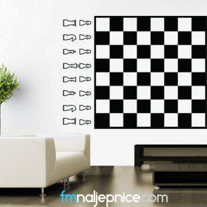 Zidna naljepnica – Šah