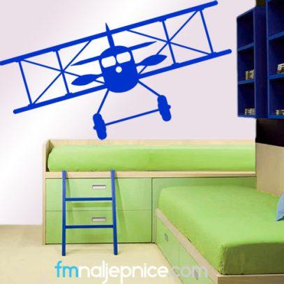 Zidna naljepnica avion