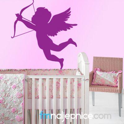 Zidna naljepnica - anđeo