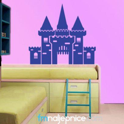 Zidna naljepnica dvorac