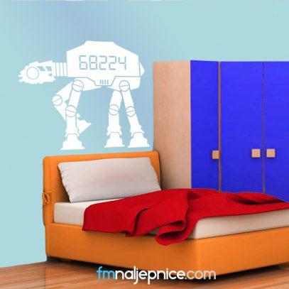 Zidna naljepnica robot