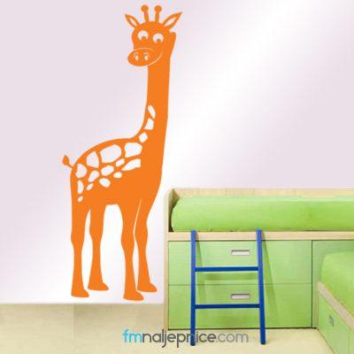 Zidna naljepnica Žirafa