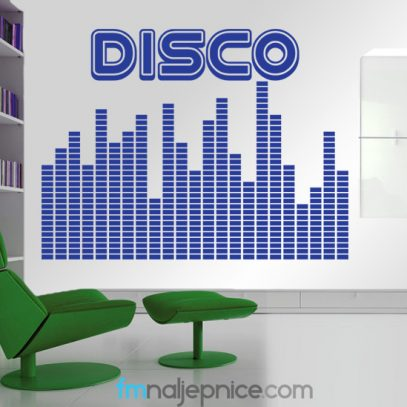 Disco zidna naljepnica