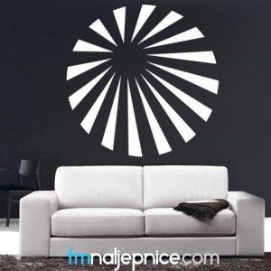 Zidna naljepnica - sunce