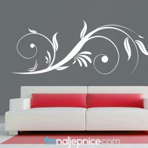 Zidna naljepnica – Floral art