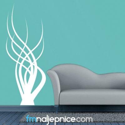 Zidna naljepnica – Morska trava