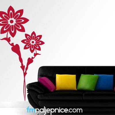 Zidna naljepnica – Cvjetovi 2