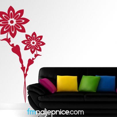 Zidna naljepnica - cvjetovi 2