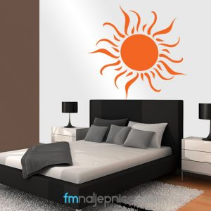 Zidna naljepnica – Sunce 2