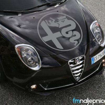 Alfa Romeo logo retro