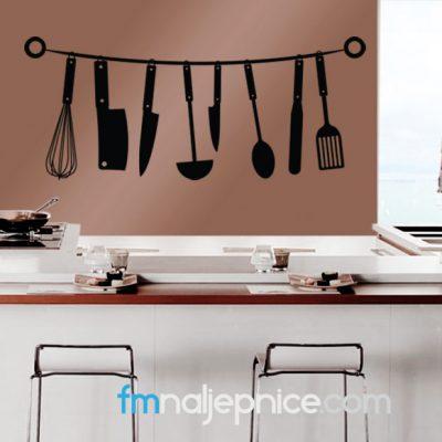 Zidna naljepnica - kuhinjski pribor