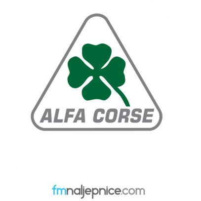 Naljepnica Alfa Corse