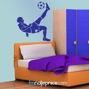 Zidna naljepnica nogomet