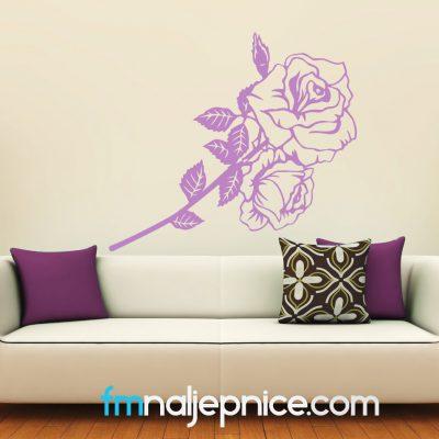 Zidna naljepnica Ruže