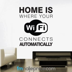 Home is where your wifi