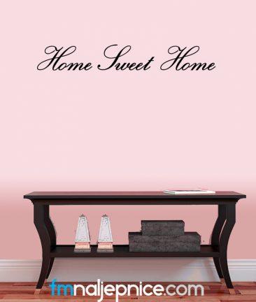 Home sweet home zidna naljepnica