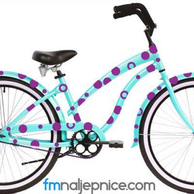 Naljepnice za bicikl – Kružići – set 100 kom