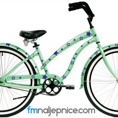 Naljepnice za bicikl – Zvjezdice – set 100 kom