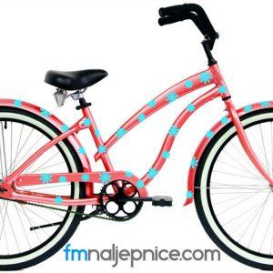 Naljepnice za bicikl – Cvjetići – set 100 kom