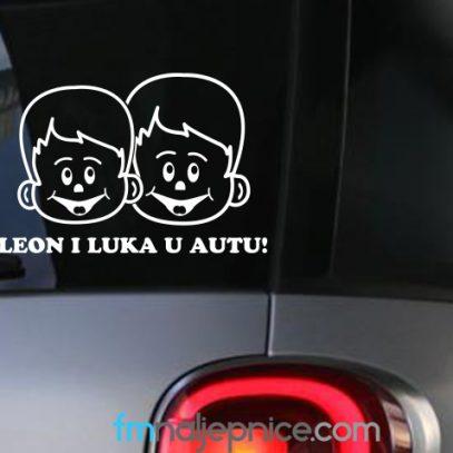 Naljepnica beba u autu