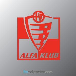 Alfa Klub logo