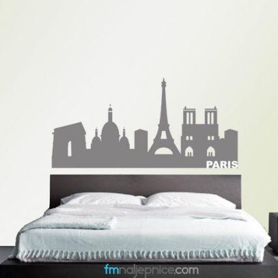 Naljepnice za zid Pariz