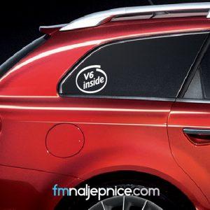 Alfa Romeo V6 inside