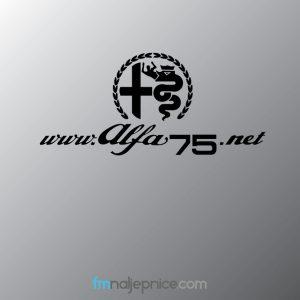 Alfa75.net logo