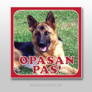 Personalizirana Tabla za psa s Vašom fotografijom
