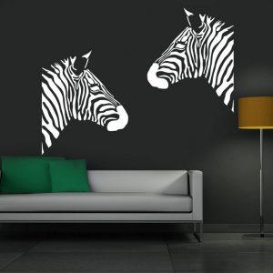 Zidna naljepnica zebra