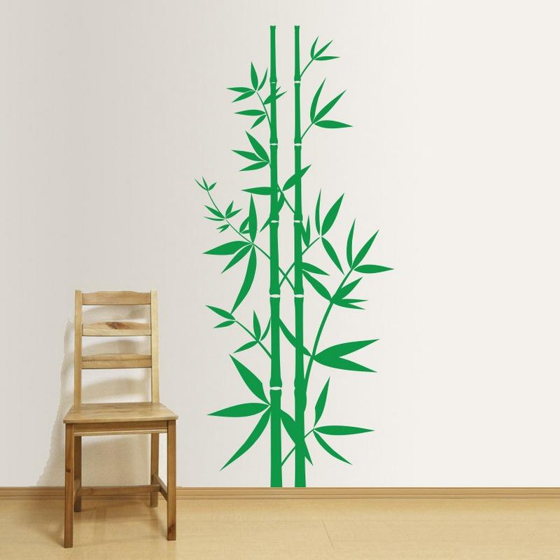 Zidna naljepnica drvo bambus