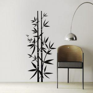 Zidne dekoracije Zidna naljepnica drvo bambus