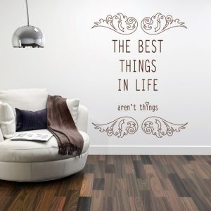 Zidna naljepnica citat