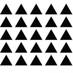 Zidne naljepnice – trokut set