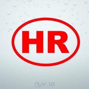 Naljepnica HR oznaka 3