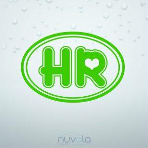 Naljepnica HR oznaka 5