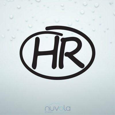 HR naljepnica za auto oznaka 10