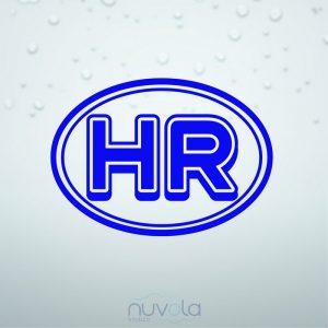 Naljepnica HR oznaka 4