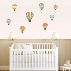 Zidne naljepnice – baloni