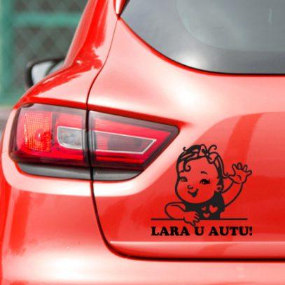 nd0319 – naljepnica beba u autu